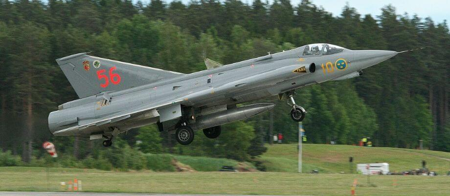 Jaktplan - J35 Draken